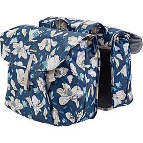Basil Magnolia Double Pannier Bag 35l teal blue